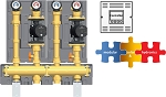 2-ZONE HIGH TEMPERATURE 1'' MODULAR HYDRONIC SYSTEM