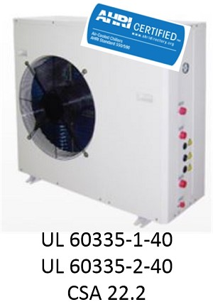 AIR-TO-WATER HEAT PUMP, 3 TONS HEATING/2 TONS COOLING